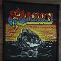 Saxon vintage patch