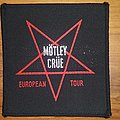 Mötley Crüe - Patch - Motley Crue - 1984 European Tour