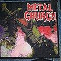 Metal Church - Patch - Metal Church S/T Woven patch