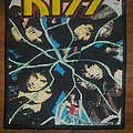 "Kiss - ""Crazy Nights"" Woven vintage patch"