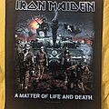 Iron Maiden - Patch - Iron Maiden - A Matter of Life and Death Backpatch