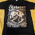 Sabaton - TShirt or Longsleeve - Sabaton - The Great Tour 2020 T-Shirt