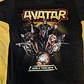 Avatar - TShirt or Longsleeve - Avatar - Avatar Country World Tour T-Shirt