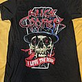 Alice Cooper - TShirt or Longsleeve - Alice Cooper - Spend the Night tour T-Shirt