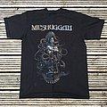Meshuggah The violent sleep of reason European tour 2016/2017. Size Medium.