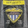 Anthrax we are the law back patch