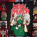 "Patch - Metal Church ""Fake Healer"" Back Patch"