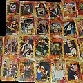 AC-DC - Other Collectable - Playing cards with photos of metal bands, incomplete deck
