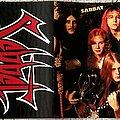 Sabbat (UK) - Tape / Vinyl / CD / Recording etc - Sabbat - 'Vosselaar 7.9.89' cassette tape
