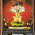 Sabbat (UK) - Other Collectable - Sabbat - 'HOATTC' promo poster