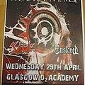 Sabbat (UK) - Other Collectable - Sabbat - concert poster (April 2010 in Glasgow)
