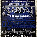 Sabbat (UK) - Other Collectable - Return To The Sabbat - gig flyer from Camden Underworld 2003