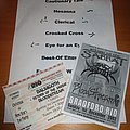 Sabbat (UK) - Other Collectable - Return To The Sabbat - ticket, flyer + set-list December 2002