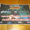 Sabbat - concert poster from Ivory Blacks gig in Glasgow, August 2010 Other Collectable
