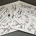 Thunder - Tape / Vinyl / CD / Recording etc - Thunder - 'Rip It Up' personalised white-label vinyl