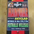 Skyclad - another 1994 tour poster (supporting Manowar)