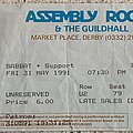 Sabbat (UK) - Other Collectable - Sabbat - Gig ticket for Derby Assembly Rooms, 31 May 1991