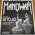Skyclad - 1994 tour poster (supporting Manowar) Other Collectable