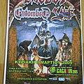 Sabbat (UK) - Other Collectable - Sabbat - Poster for gig at Gagarin 205, Athens, Greece 2009