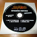 Skyclad - 'Outrageous Fortunes' promotional CD  Tape / Vinyl / CD / Recording etc