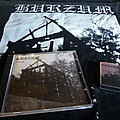 Burzum - Tape / Vinyl / CD / Recording etc - Burzum Aske CD 1993, Burzum Lighter, Burzum Shirt