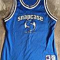 Snapcase - NCAA Champion Basketball Jersey Shirt - Size 40 Medium - signed by Daryl Taberski