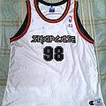 Snapcase - TShirt or Longsleeve - Snapcase - NBA Champion Basketball Jersey Shirt - Size 44 Large