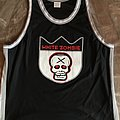 White Zombie - Basketball Jersey Shirt - Size XL (fits between XL-2XL)