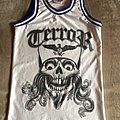 Terror - Teamwork Athletic Apparel Basketball Jersey Shirt - Size 34-36 Small