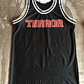 Terror - Teamwork Athletic Apparel Basketball Jersey Shirt - Size 38-40 Medium