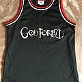 God Forbid - Teamwork Athletic Apparel Basketball Jersey Shirt - Size 42-44 Large