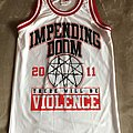 Impending Doom - Teamwork Athletic Apparel Basketball Jersey Shirt - Size 34-36 Small