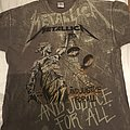 Metallica - TShirt or Longsleeve - Metallica - Justice all over print