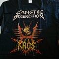 Sadistik Exekution - TShirt or Longsleeve - Sadistik Exekution K.A.O.S. t-shirt