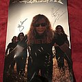 Autographed Megadeth Poster  Other Collectable