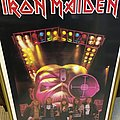 Iron Maiden 80s Somewhere in Time Poster Ross Halfin Other Collectable