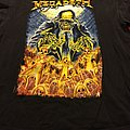 Megadeth 2011 Tour Shirt