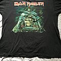 Iron Maiden Somewhere Back in Time World Tour 08 Shirt