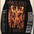 Immolation Tour Shirt