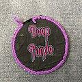 Deep Purple - Patch - Deep Purple logo circle patch