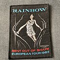 Rainbow - Patch - Rainbow Bent Out of Shape tour patch