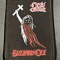 Ozzy Osbourne - Patch - Ozzy Osbourne Blizzard of Ozz back patch