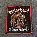 Motörhead - Patch - Motörhead Orgasmatron patch
