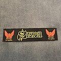 Saxon - Patch - Saxon The Eagle has Landed strip patch