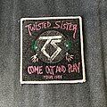 Twisted Sister - Patch - Twisted Sister Come Out and Play tour patch