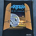 Anthrax - In My World back patch