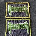 Nazareth - Patch - Nazareth green border logo patch