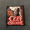 Ozzy Osbourne - Patch - Ozzy Bark at the Moon patch