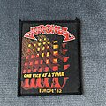 Krokus - Patch - Krokus - One Vice at a Time Europe 82 patch