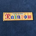 Rainbow - Patch - Rainbow logo mini strip